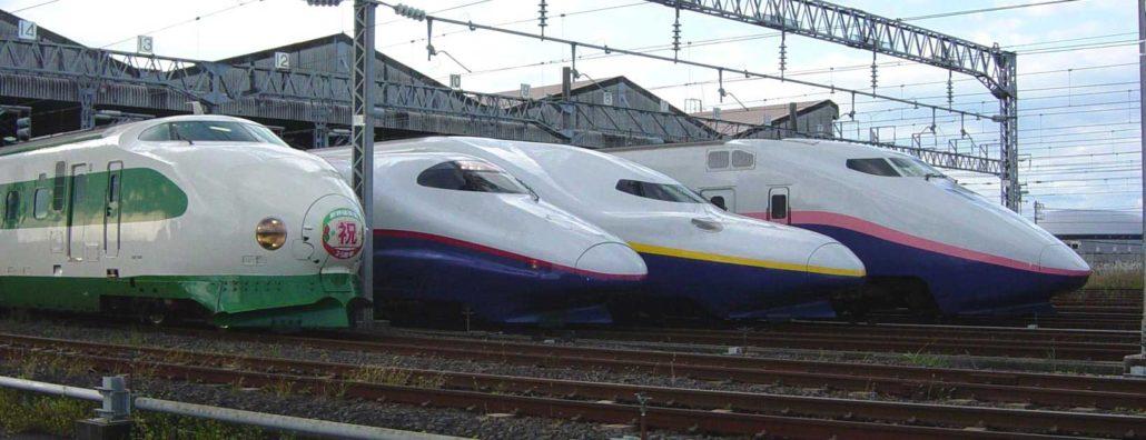 Kereta Api Di Jepang