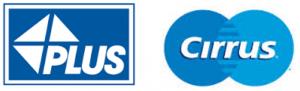Logo PLUS dan Cirrus Di Kartu ATM
