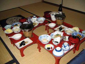 Makanan di Shukubo